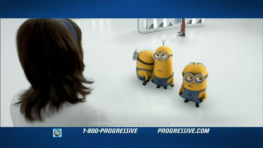 Progressive Name Your Price Tool TV Spot, 'Despicable Me 2' - Screenshot 1