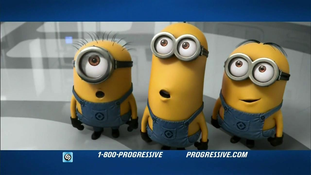 Progressive Name Your Price Tool TV Spot, 'Despicable Me 2' - Screenshot 5