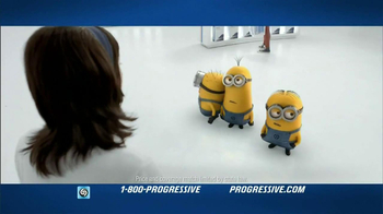 Progressive Name Your Price Tool TV Spot, 'Despicable Me 2' - Thumbnail 1