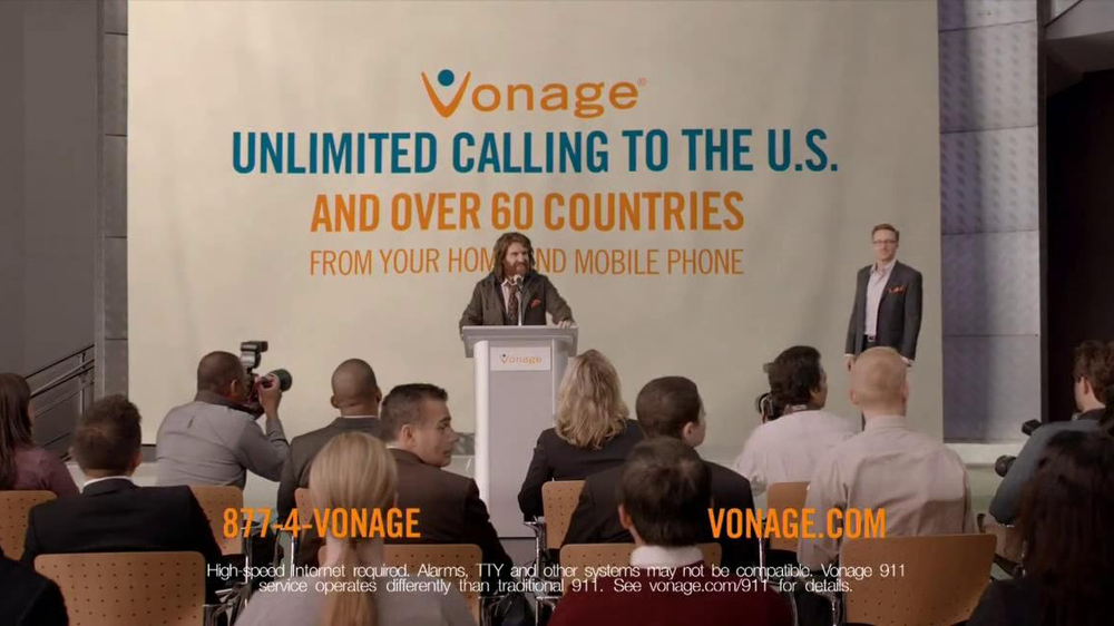 Vonage TV Spot, 'The Chief Generosity Officer' - Screenshot 9