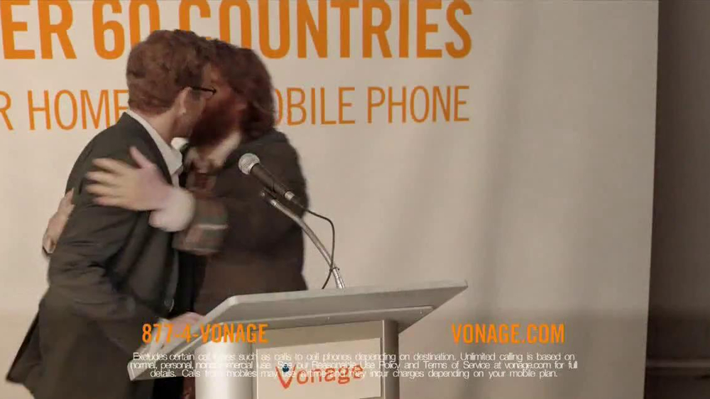 Vonage TV Spot, 'The Chief Generosity Officer' - Screenshot 7