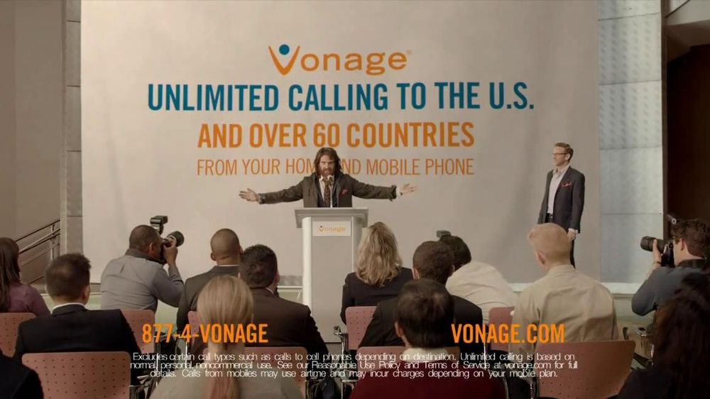 Vonage TV Spot, 'The Chief Generosity Officer' - Screenshot 8
