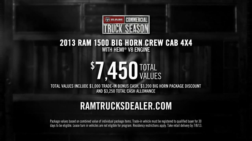 Ram Commercial Truck Season TV Spot, 'Best in Class' - Screenshot 9