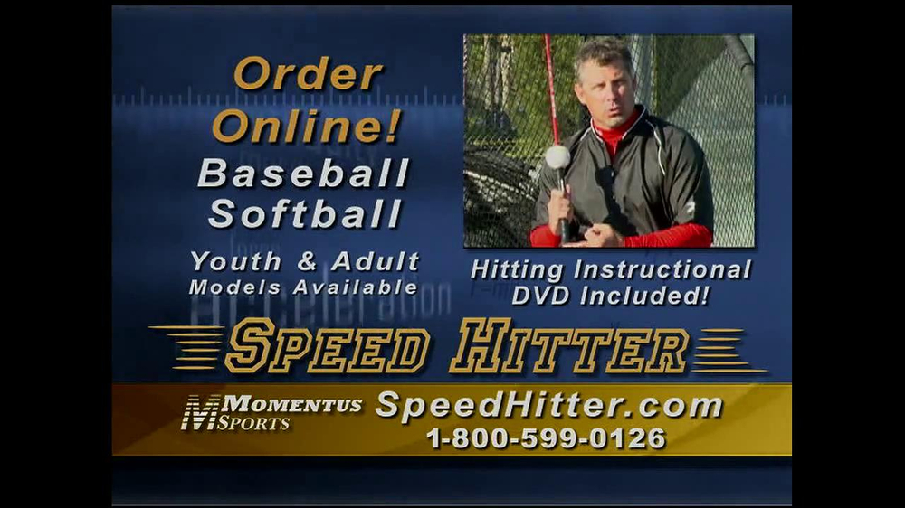 Speed Hitter TV Spot - Screenshot 10