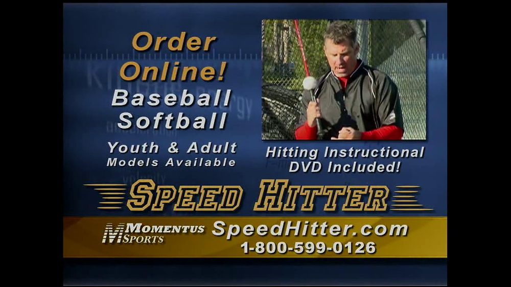 Speed Hitter TV Spot - Screenshot 9
