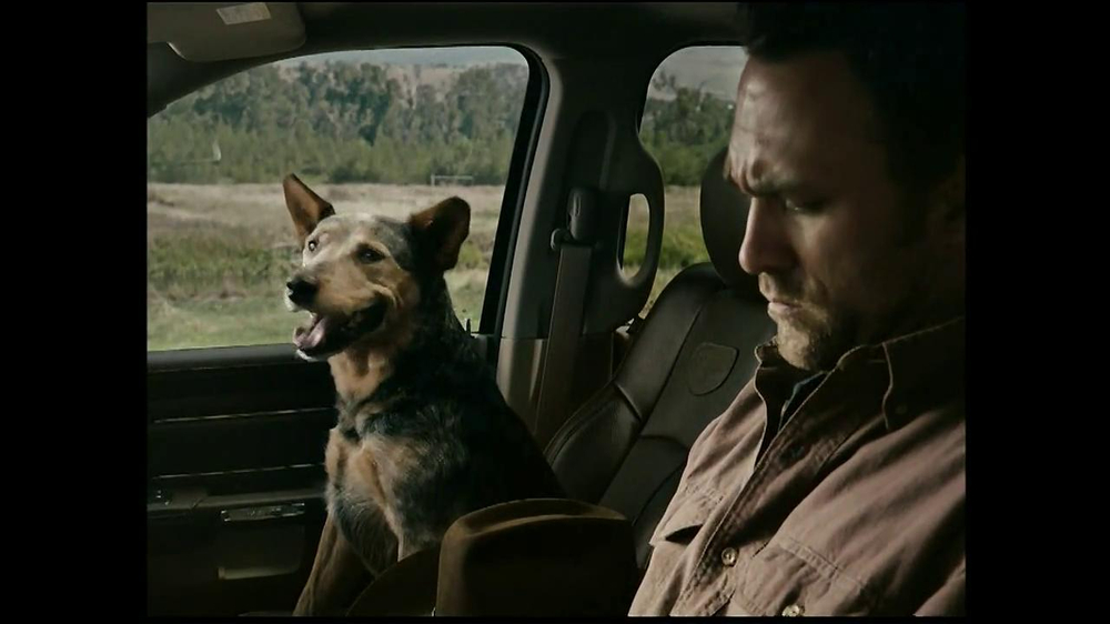 2013 Ram Laramie Longhorn TV Spot, 'Jealous Dog' - Screenshot 2