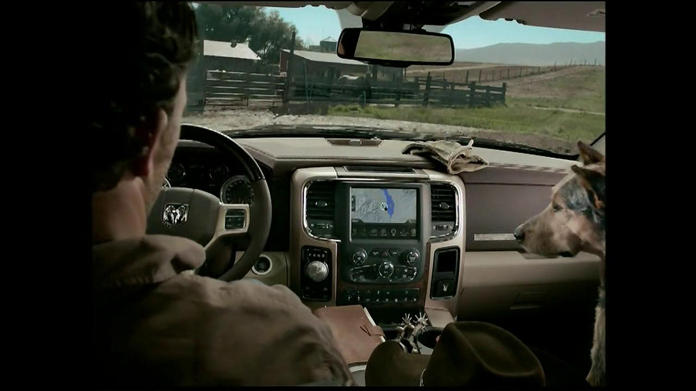 2013 Ram Laramie Longhorn TV Spot, 'Jealous Dog' - Screenshot 3