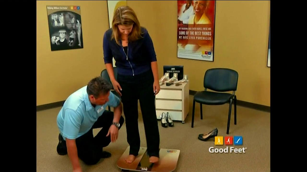Good feet tv commercial featuring bill walton and mary lou retton