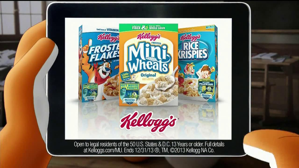 Kellogg's Cereal TV Spot, 'Monsters University' - Screenshot 6