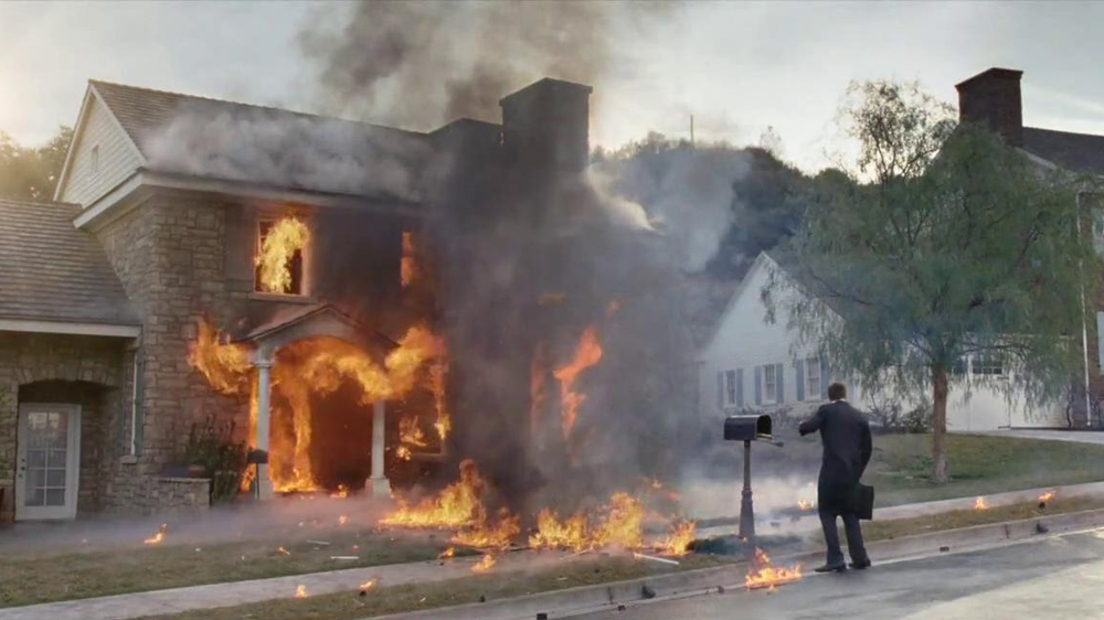 Directv Tv Commercial 39 Exploding House 39