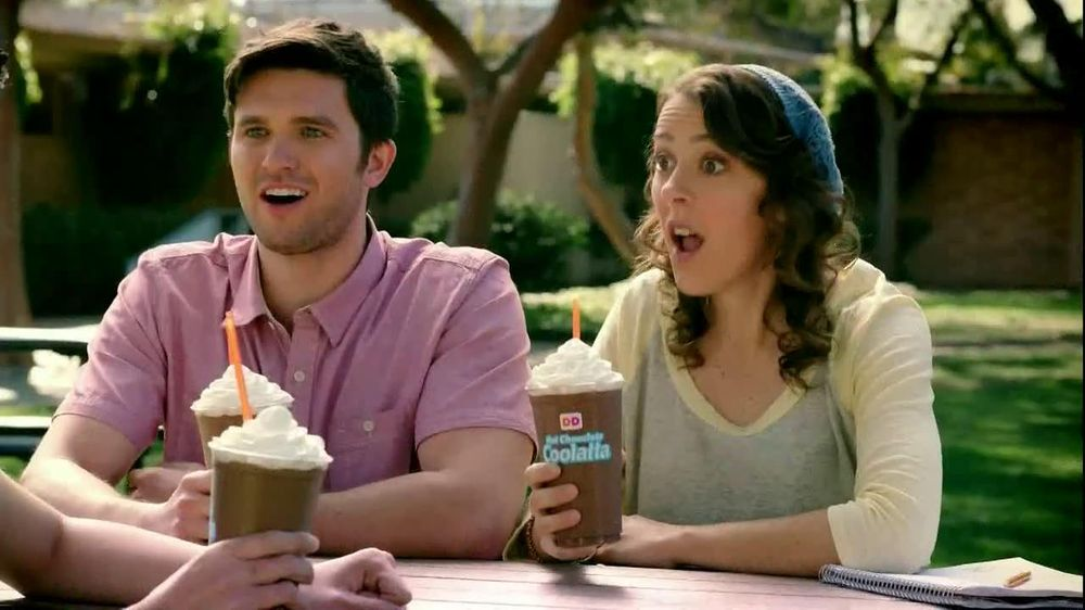 Dunkin' Donuts Hot Chocolate Coolatta TV Spot - 675 commercial airings