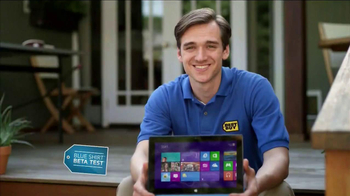 Best Buy Blue Shirt Beta Test TV Spot, 'Microsoft Surface RT' - Thumbnail 1