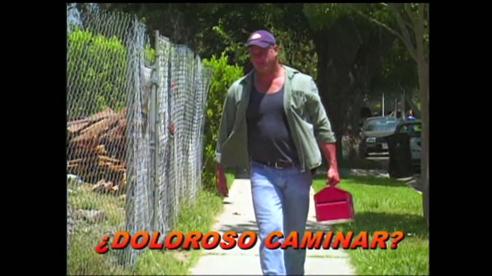 WalkFit TV Spot, 'Dolor' [Spanish]