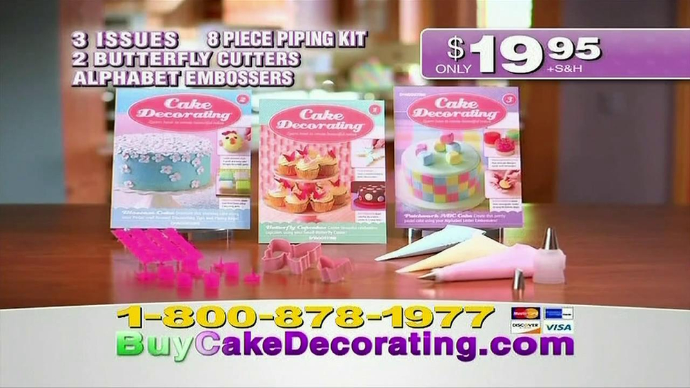 Deagostini Cake Decorating Contact Number : Deagostini Cake Decorating Guide TV Commercial - iSpot.tv