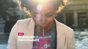 McDonald's Blueberry Pomegranate Smoothie TV Spot, 'Fountain' - Thumbnail 5