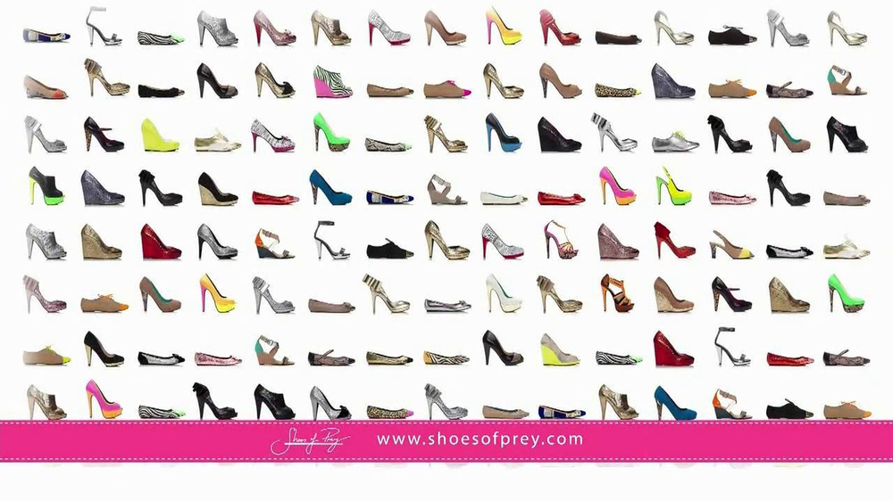 Shoes of Prey TV Spot - Screenshot 2