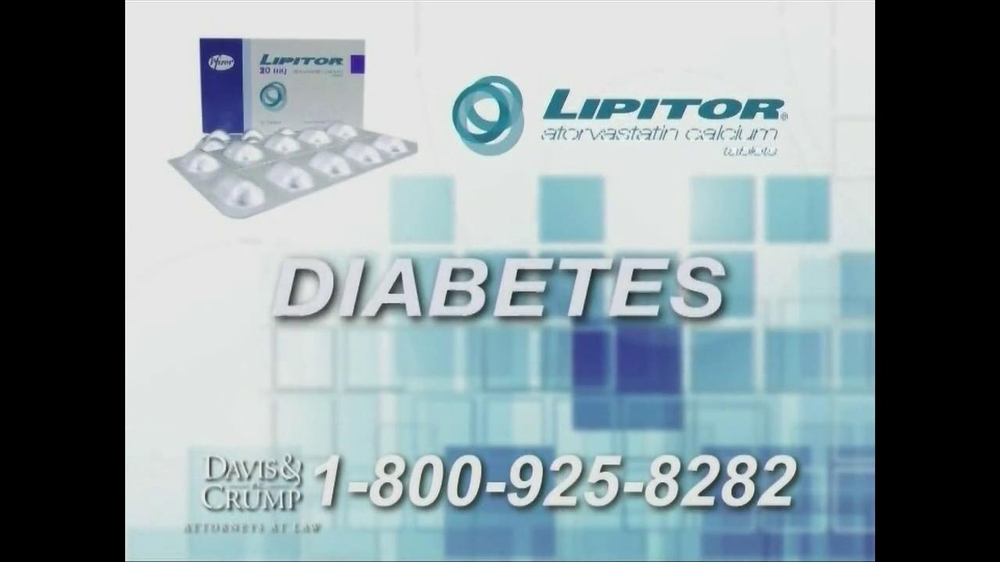 Davis & Crump, P.C. TV Spot, 'Lipitor' - Screenshot 1