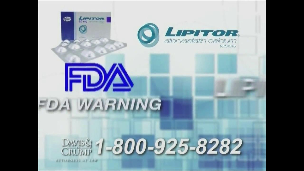 Davis & Crump, P.C. TV Spot, 'Lipitor' - Screenshot 2