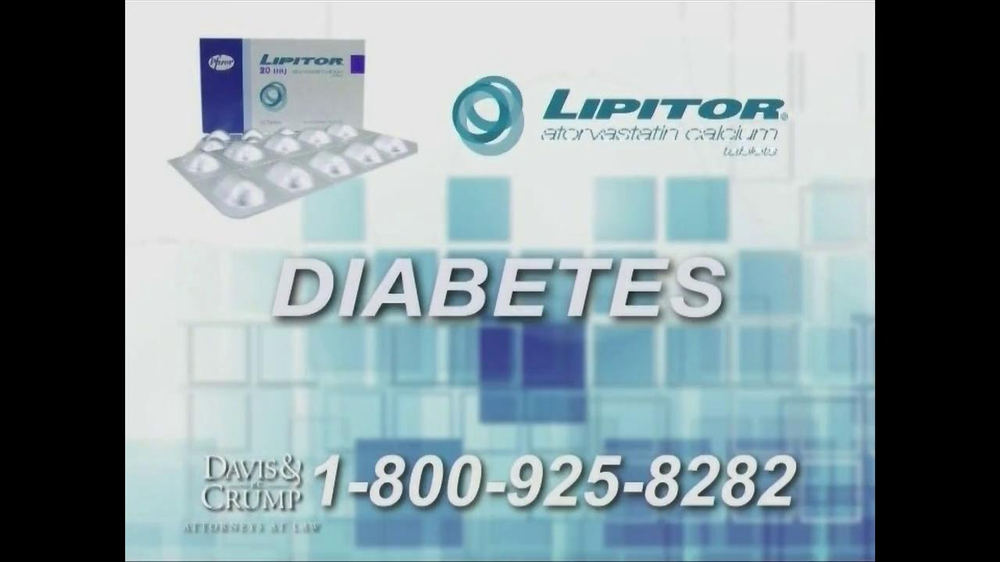 Davis & Crump, P.C. TV Spot, 'Lipitor' - Screenshot 3