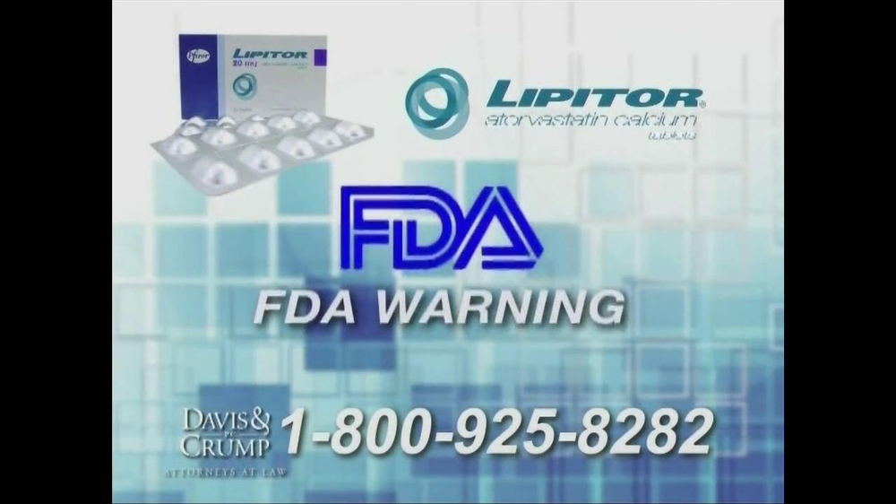 Davis & Crump, P.C. TV Spot, 'Lipitor' - Screenshot 6