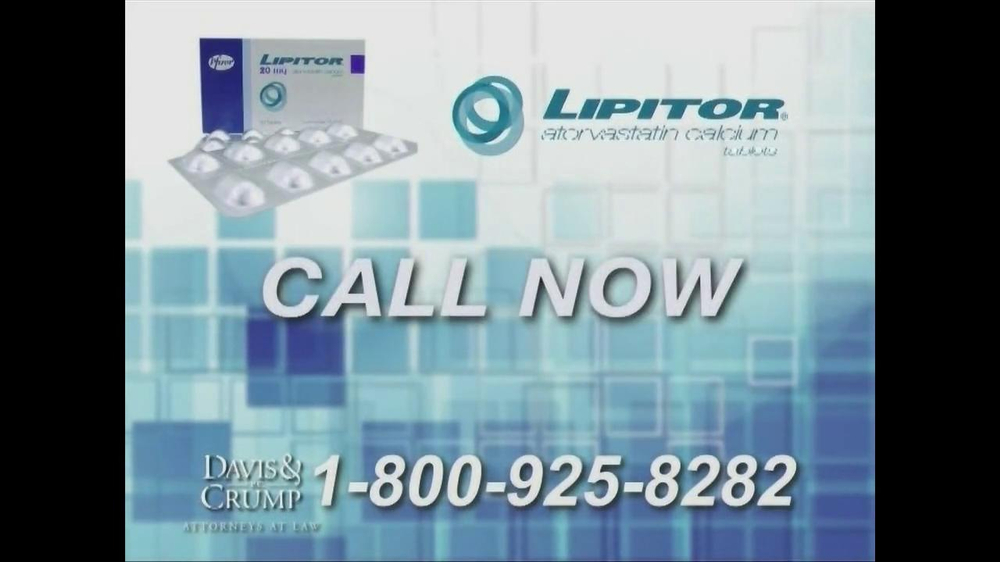 Davis & Crump, P.C. TV Spot, 'Lipitor' - Screenshot 8