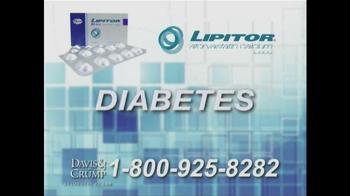 Davis & Crump, P.C. TV Spot, 'Lipitor' - Thumbnail 7