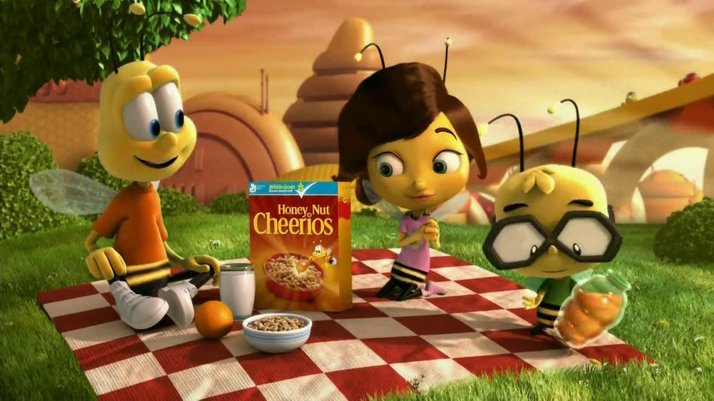 Honey Nut Cheerios TV Spot, 'Yellow Jacket' - Screenshot 2