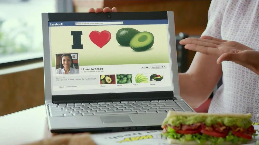 Subway Turkey and Bacon Avocado TV Spot, 'Avocado Love' - Screenshot 3