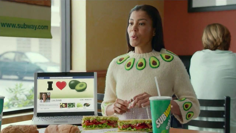 Subway Turkey and Bacon Avocado TV Spot, 'Avocado Love' - Screenshot 4