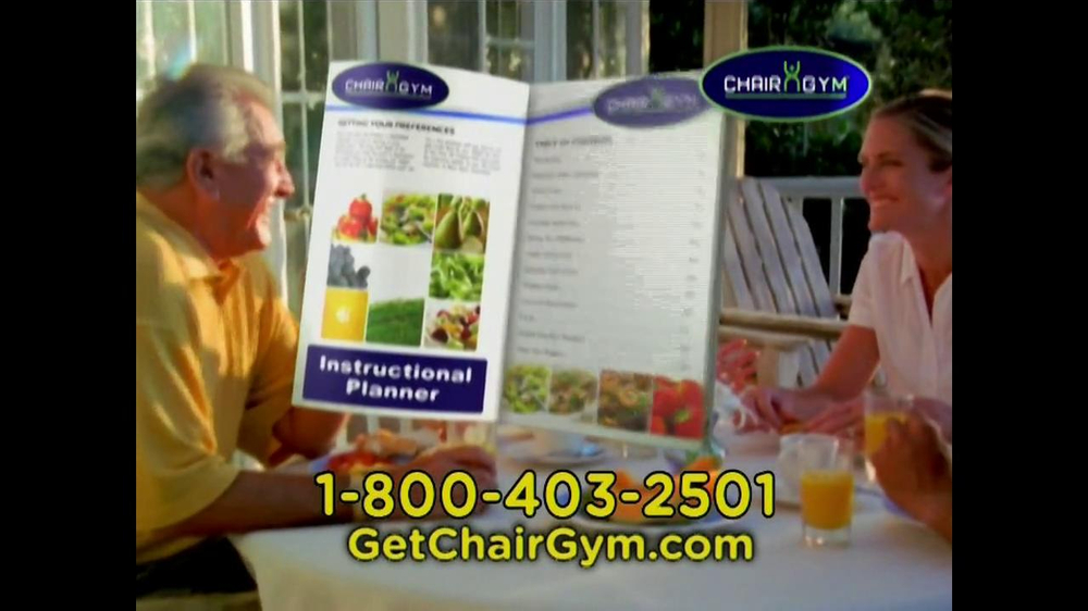 Chair Gym TV Spot  - Screenshot 10