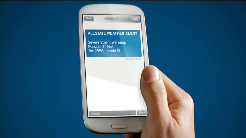 Allstate Mobile Weather Alerts TV Spot Featuring Reed Timmer - Screenshot 10