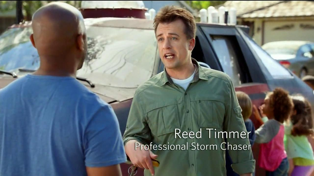 Allstate Mobile Weather Alerts TV Spot Featuring Reed Timmer - Screenshot 3