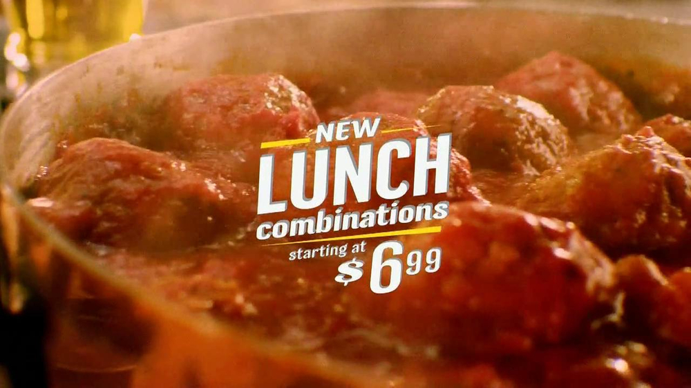 Olive Garden Lunch Combinations Tv Commercial 39 Meatball Sandwich 39