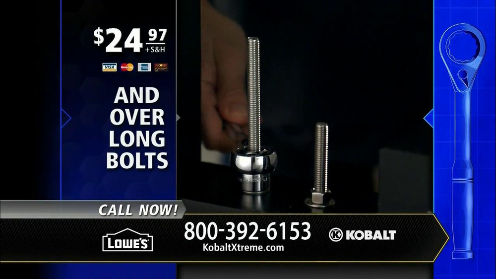 Kobalt Xtreme Access TV Spot, 'Sockets' - Screenshot 10