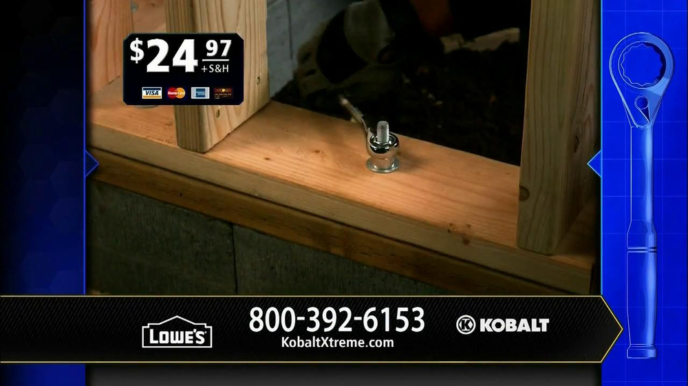 Kobalt Xtreme Access TV Spot, 'Sockets' - Screenshot 6