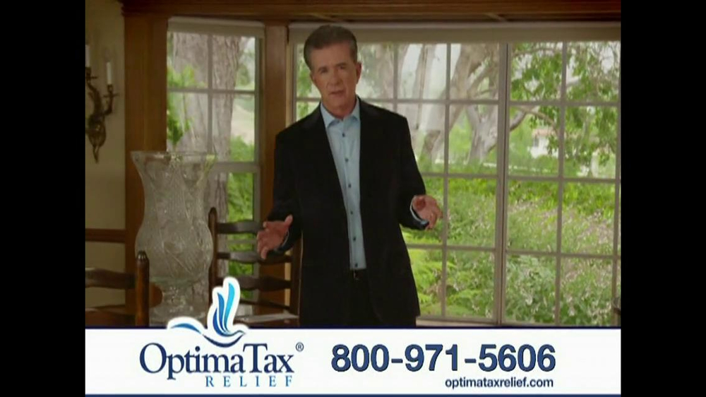 Optima Tax Relief TV Spot, 'IRS' Featuring Alan Thicke - Screenshot 3
