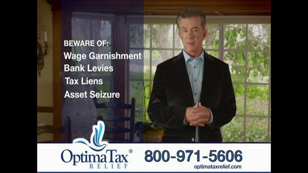 Optima Tax Relief TV Spot, 'IRS' Featuring Alan Thicke - Screenshot 4