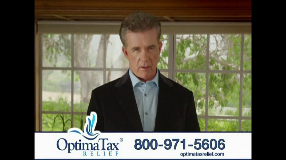 Optima Tax Relief TV Spot, 'IRS' Featuring Alan Thicke - Screenshot 5