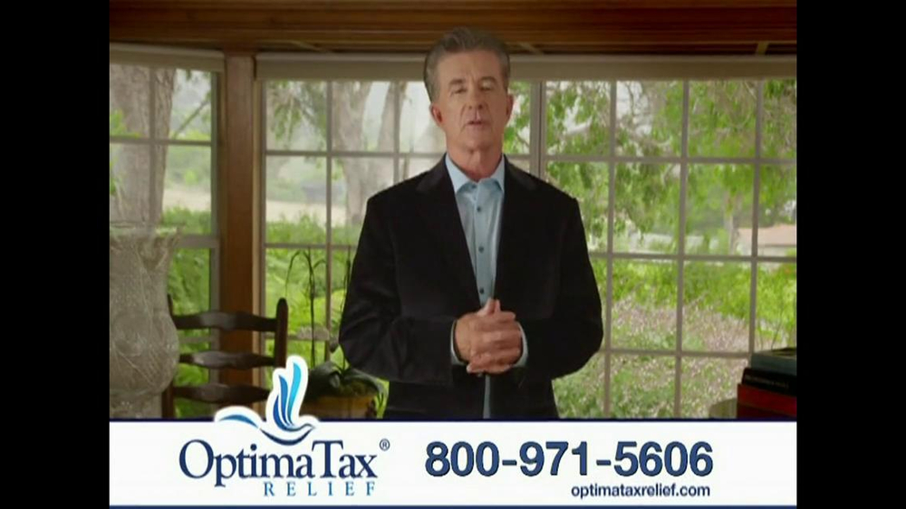 Optima Tax Relief TV Spot, 'IRS' Featuring Alan Thicke - Screenshot 7
