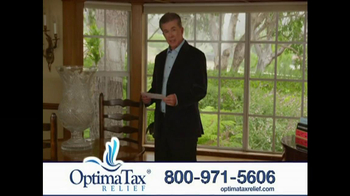 Optima Tax Relief TV Spot, 'IRS' Featuring Alan Thicke - Thumbnail 1