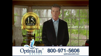 Optima Tax Relief TV Spot, 'IRS' Featuring Alan Thicke - Thumbnail 9
