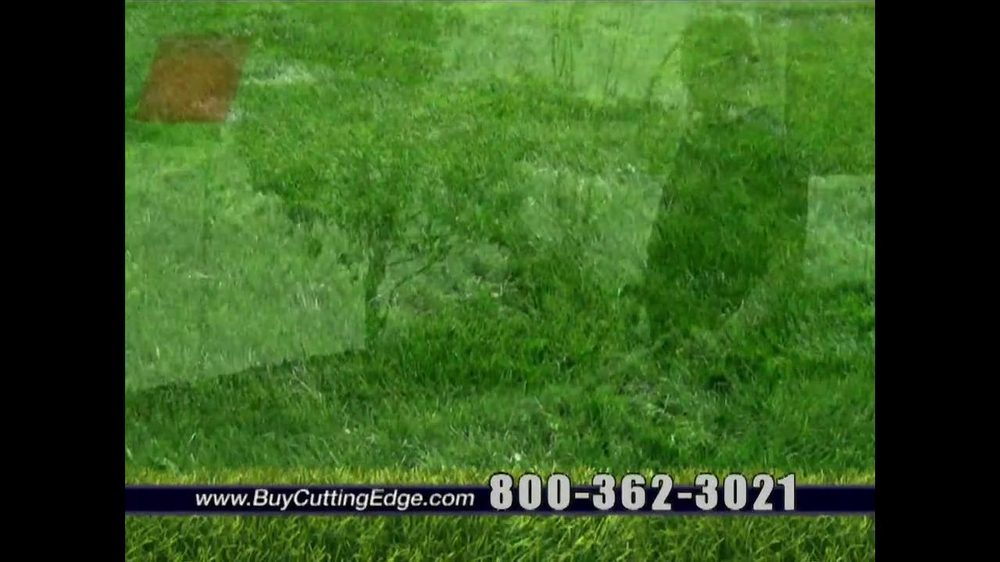 Cutting Edge Grass Seed TV Spot - Screenshot 5