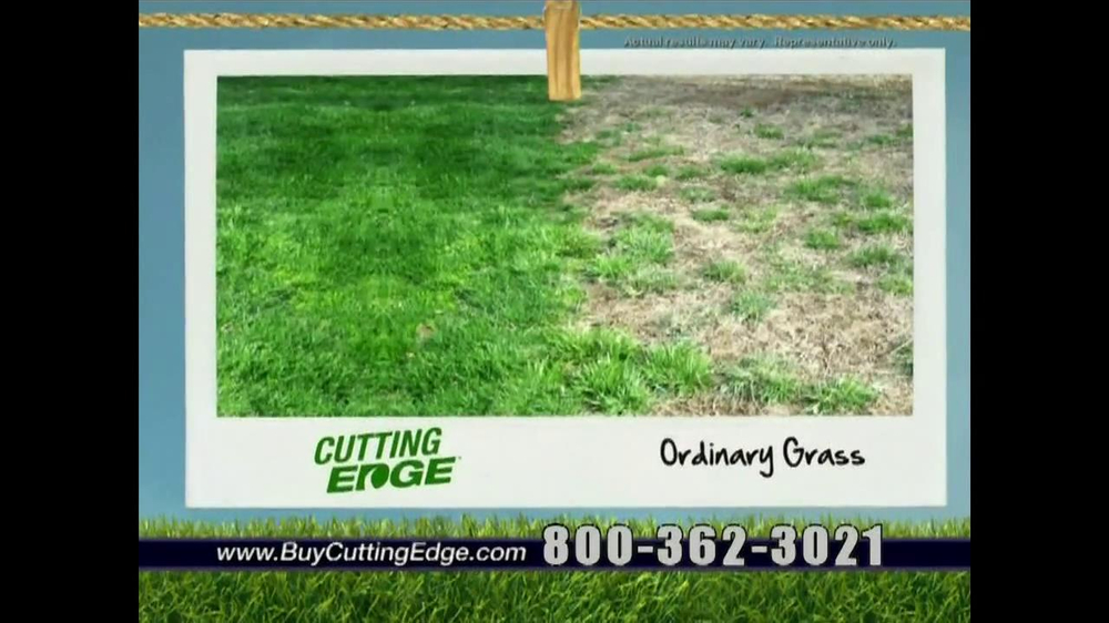 Cutting Edge Grass Seed TV Spot - Screenshot 6