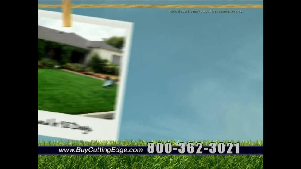 Cutting Edge Grass Seed TV Spot - Screenshot 7