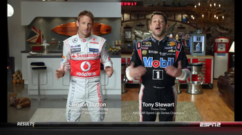 Mobil 1 TV Spot, Featuring Jenson Button, Tony Stewart - 556 commercial airings