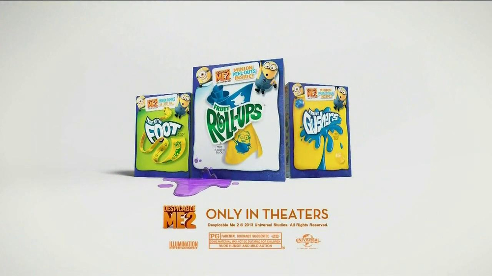 Despicable Me Fruit Snacks TV Spot  - Screenshot 9
