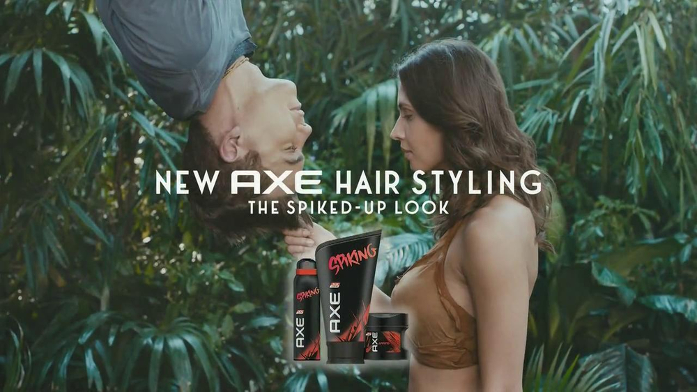 Axe Spiking Hair Styling TV Spot, 'The Spiked-Up Look' - Screenshot 10