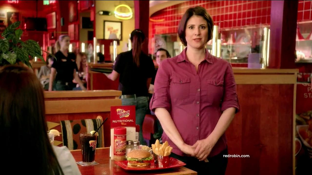 Red Robin Burgers TV Spot, 'Teenage Daughter' - Screenshot 5