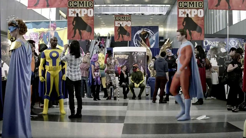 Chase Freedom TV Spot, 'Comic Expo' - Screenshot 8