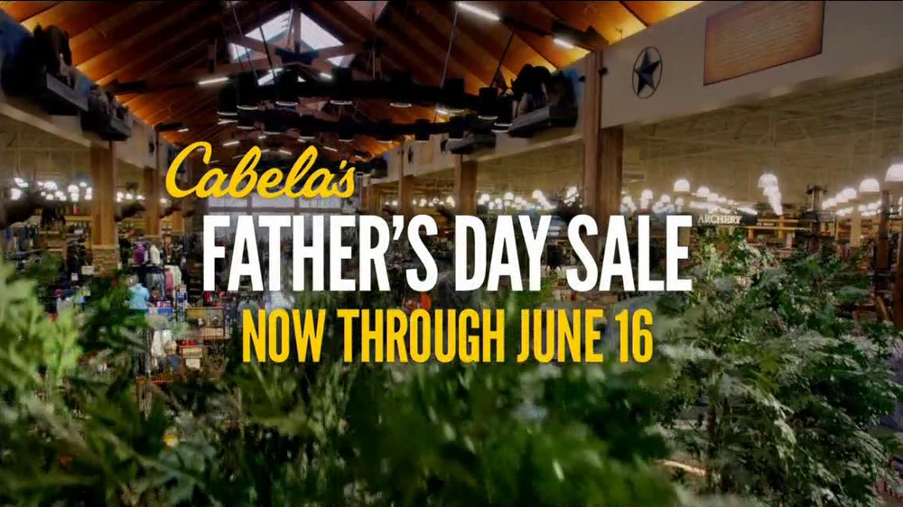 cabela 39 s tv commercial 39 father 39 s day fishing sale 39